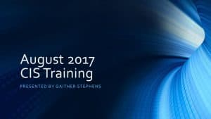 thumbnail of 2017-08-23 CIS Training