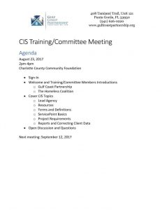 thumbnail of 2017-08-23 CIS Training Agenda