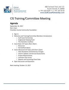 thumbnail of 2017-09-26 CIS Training Agenda