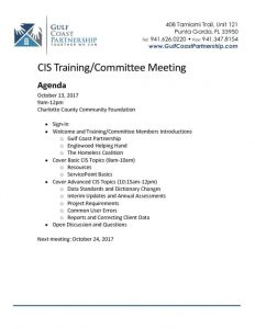 thumbnail of 2017-10-13 CIS Training Agenda