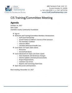 thumbnail of 2017-10-24 CIS Training Agenda