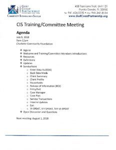 thumbnail of 2018-07-09 CIS Training Agenda