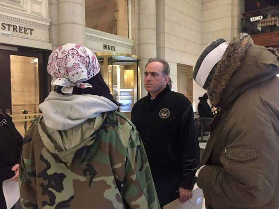 VA secretary, other federal officials participate in national homeless count