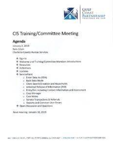 thumbnail of 2019-01-02 CIS Training Agenda