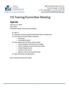 thumbnail of CIS Agenda