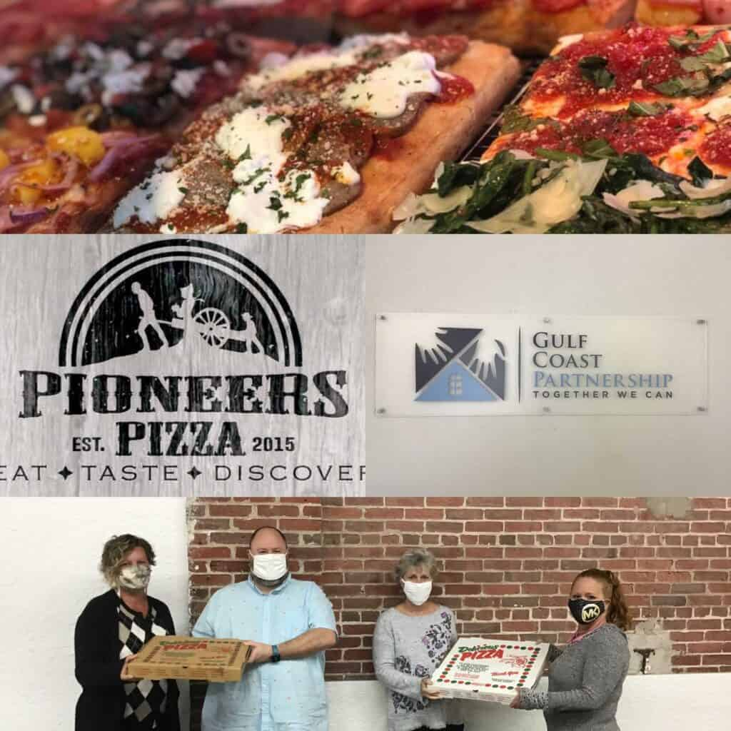 Gulf Coast Partnership and COAD Recognized for Helping Charlotte County Residents by Bite Squad and Pioneers Pizza