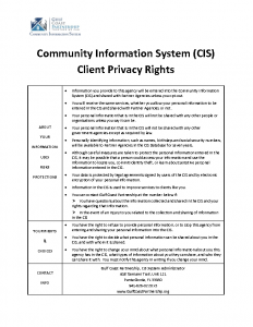 GCP CIS Privacy Poster