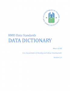 HUD Data Dictionary