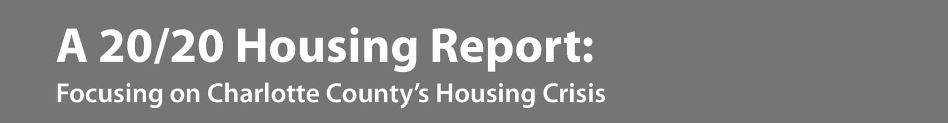 2018 Together Charlotte Housing Report