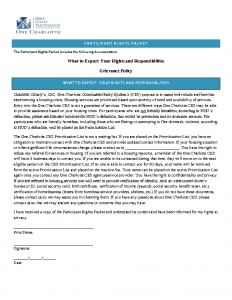 Participant Rights Packet