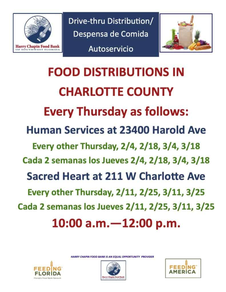 Food Distributions in Charlotte County