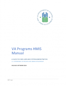 VA Programs Manual