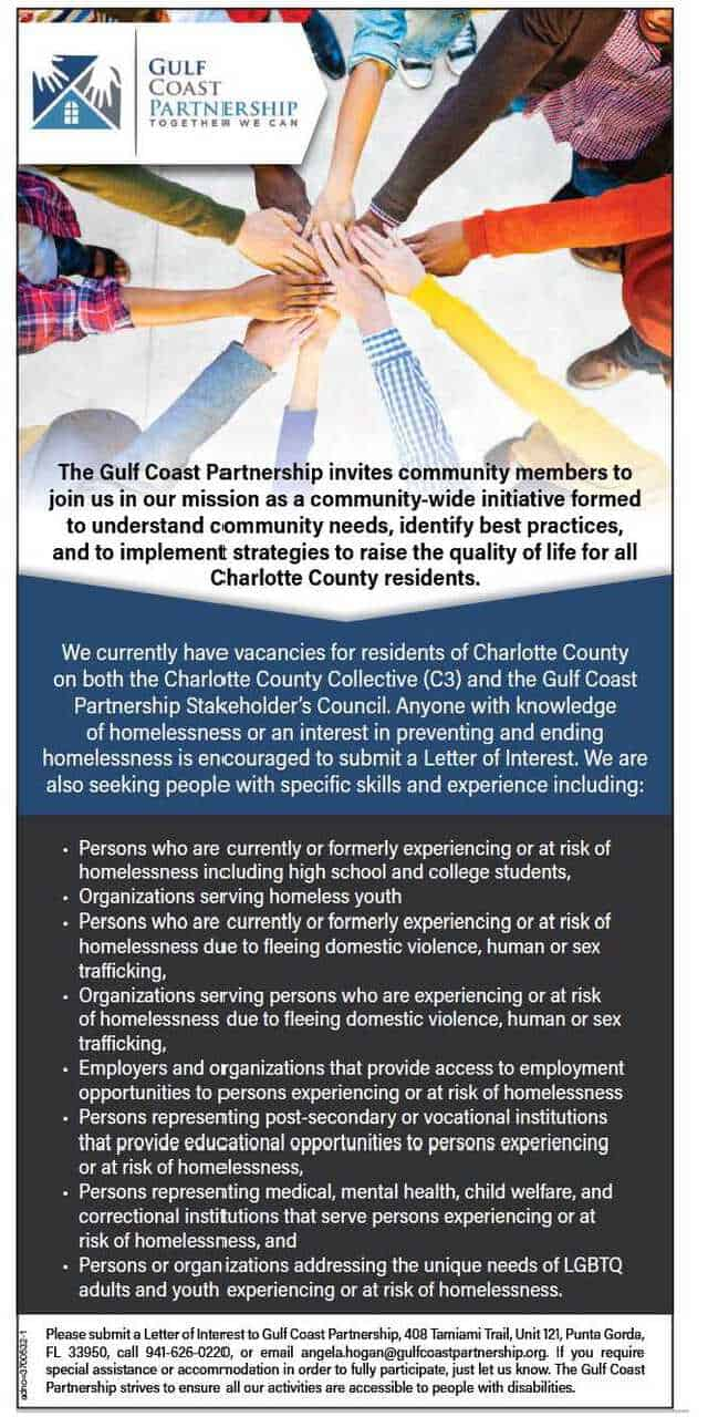Join The Gulf Coast Partnership!